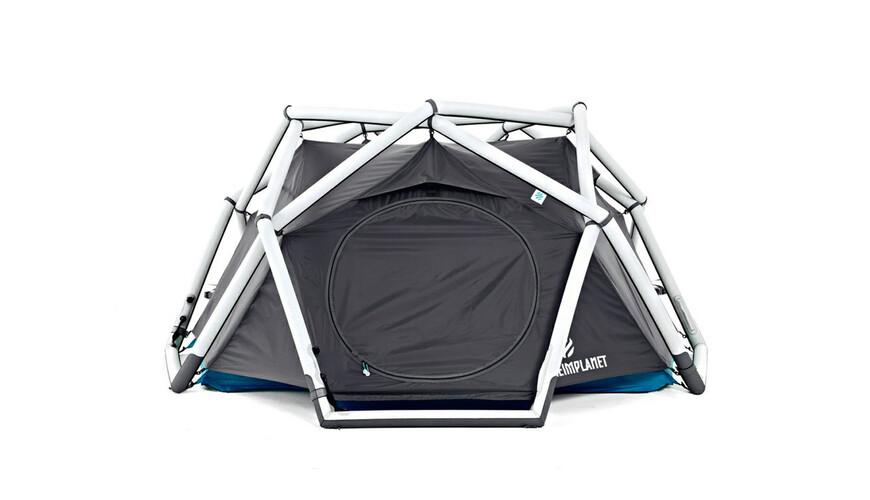 Heimplanet The Cave Tent lightgrey/dark grey/ocean blue